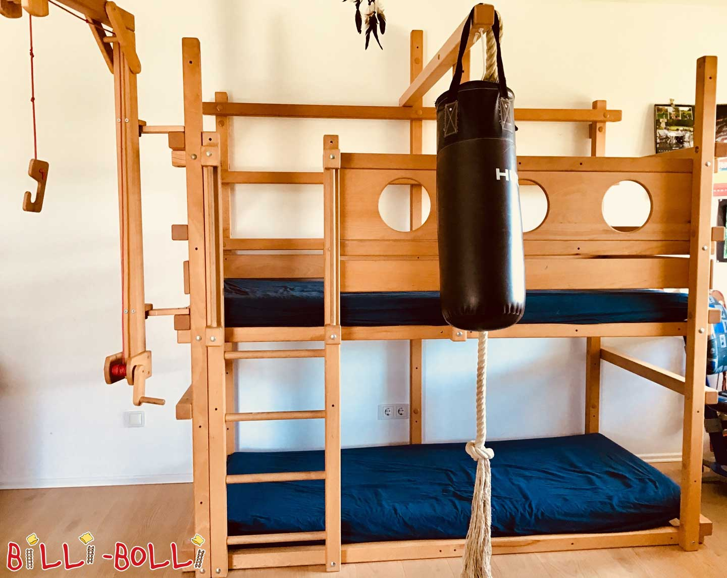 Well-kept bunk bed (second hand bunk bed)
