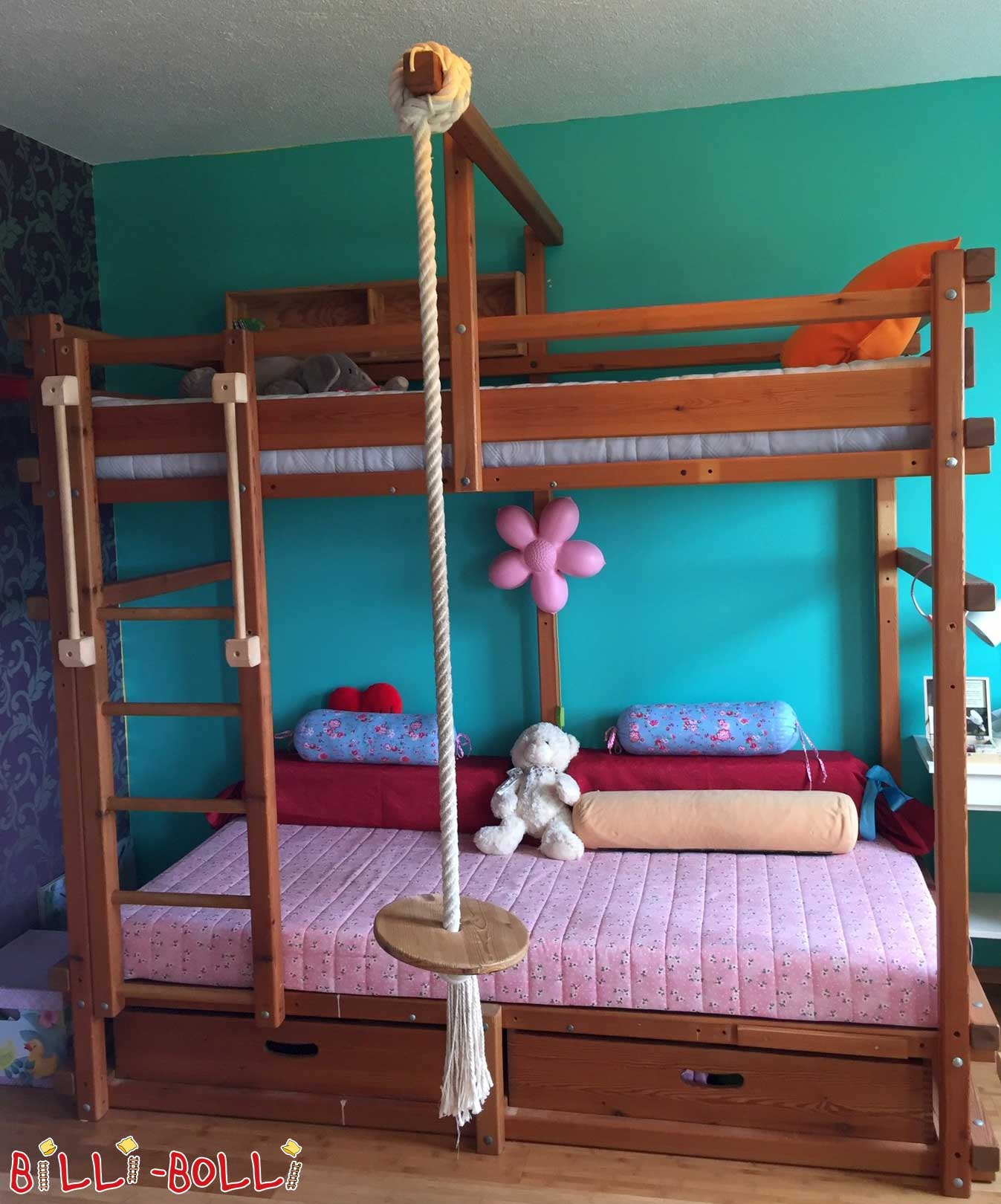 Gullibo bunk bed, 90 x 200 cm (second hand bunk bed)