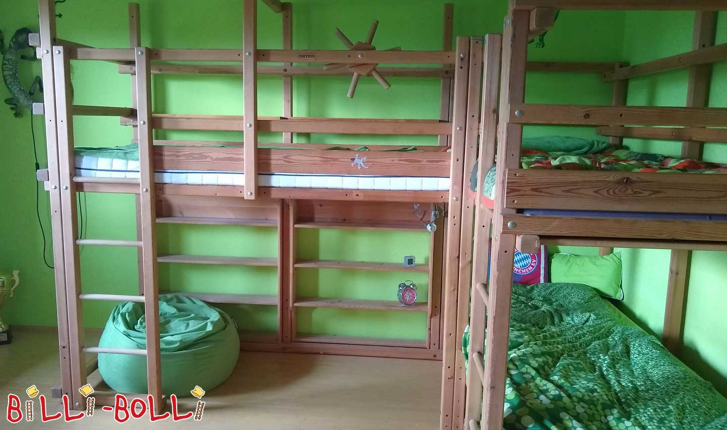 Gullibo high bed combination (second hand loft bed)