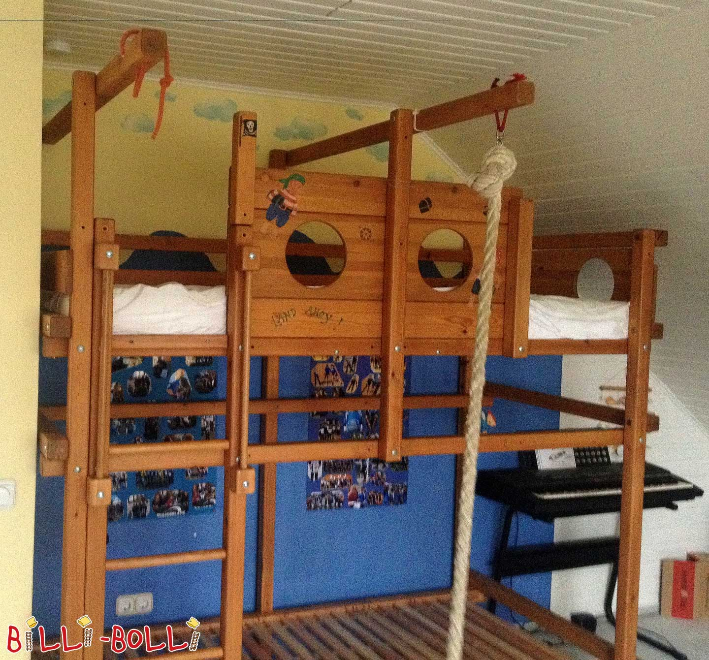 Gullibo Pirate's High Bed/Bunkbed (second hand loft bed)