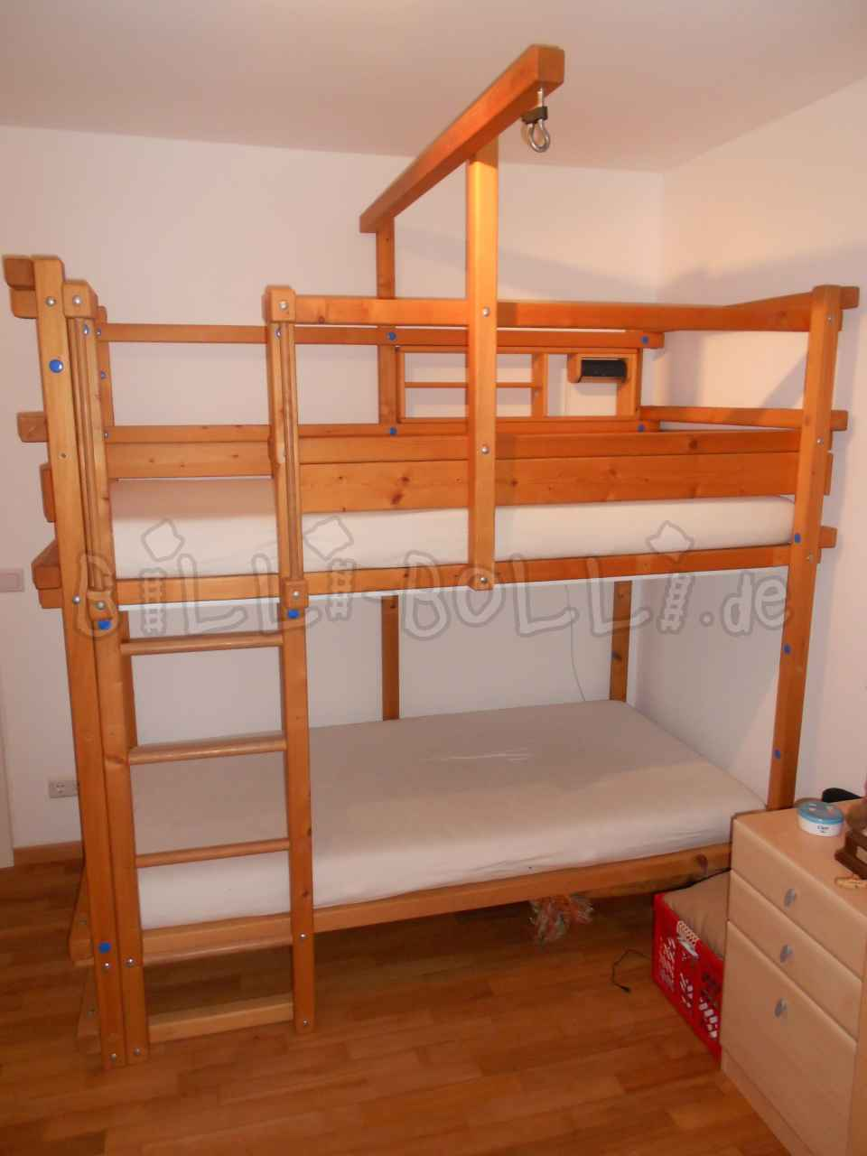 Bunk bed 100 x 200 cm (second hand loft bed)