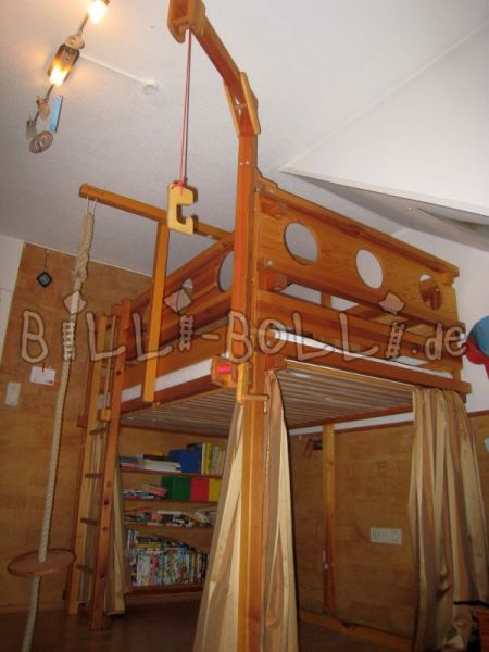 Bunk bed 120 x 200 cm (second hand loft bed)