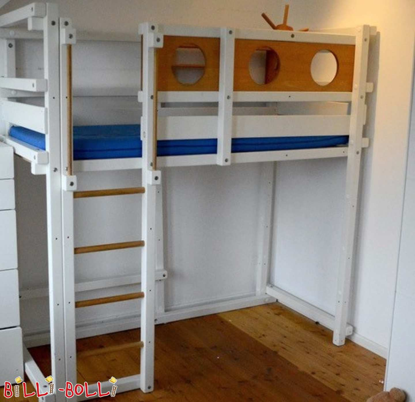 High bed 80x190 in Hennef (second hand loft bed)