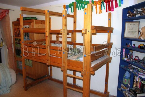 Bunk bed 90 x 190 (second hand loft bed)