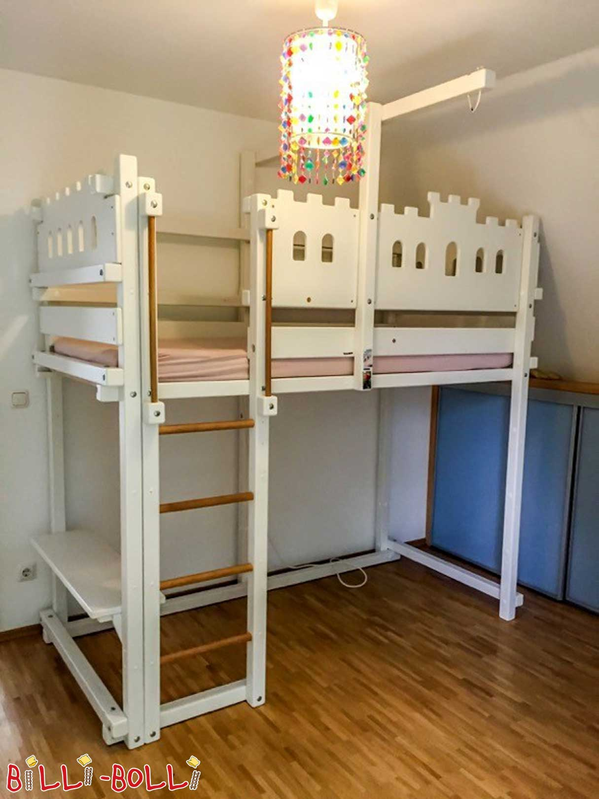 High bed used (second hand loft bed)