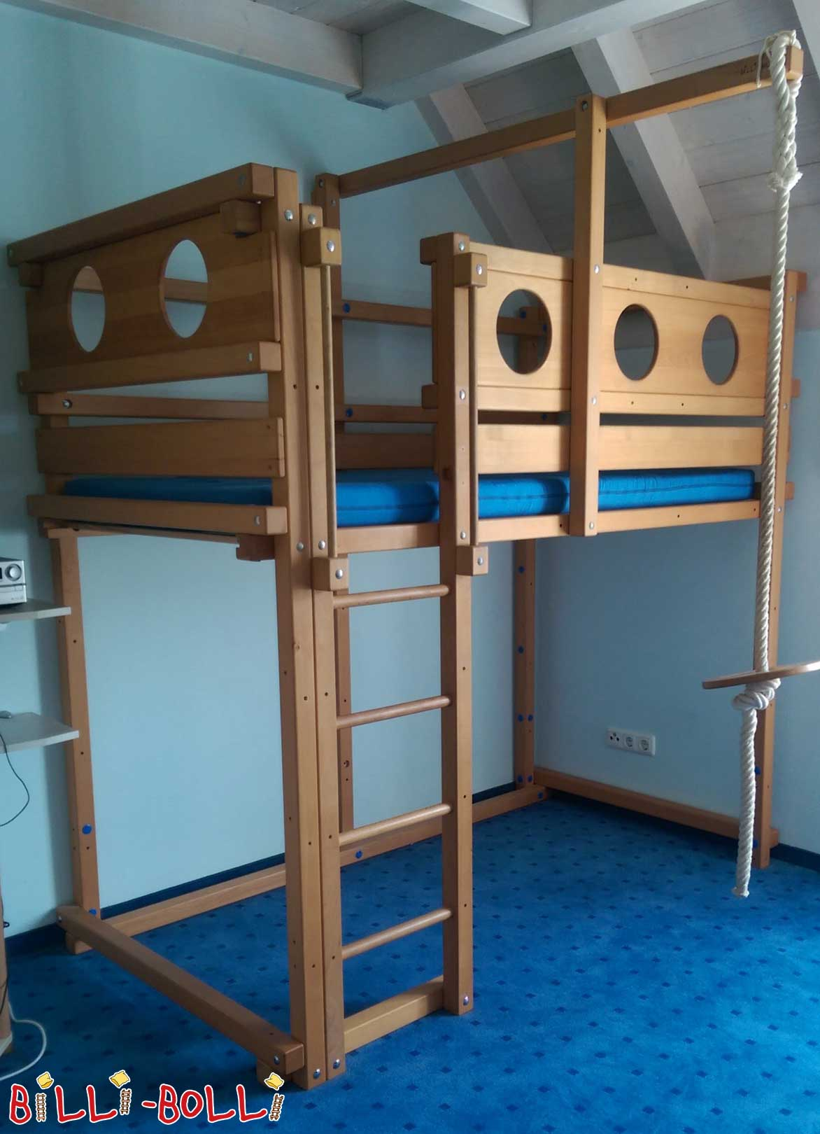 Hochbett 100x200 interesting untreated sparse bunk bed x for Hochbett mitwachsend