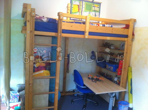 High bed of Billi-Bolli (second hand loft bed)