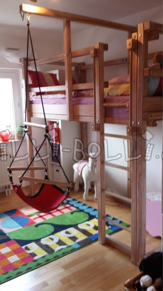 Pine high bed (second hand loft bed)