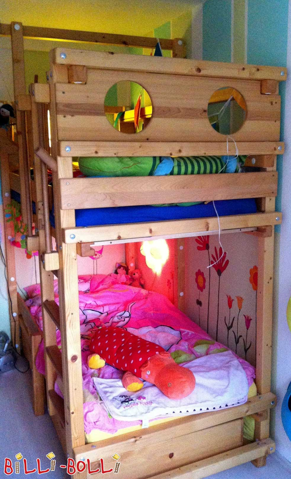 Bunk bunk bed (second hand loft bed)