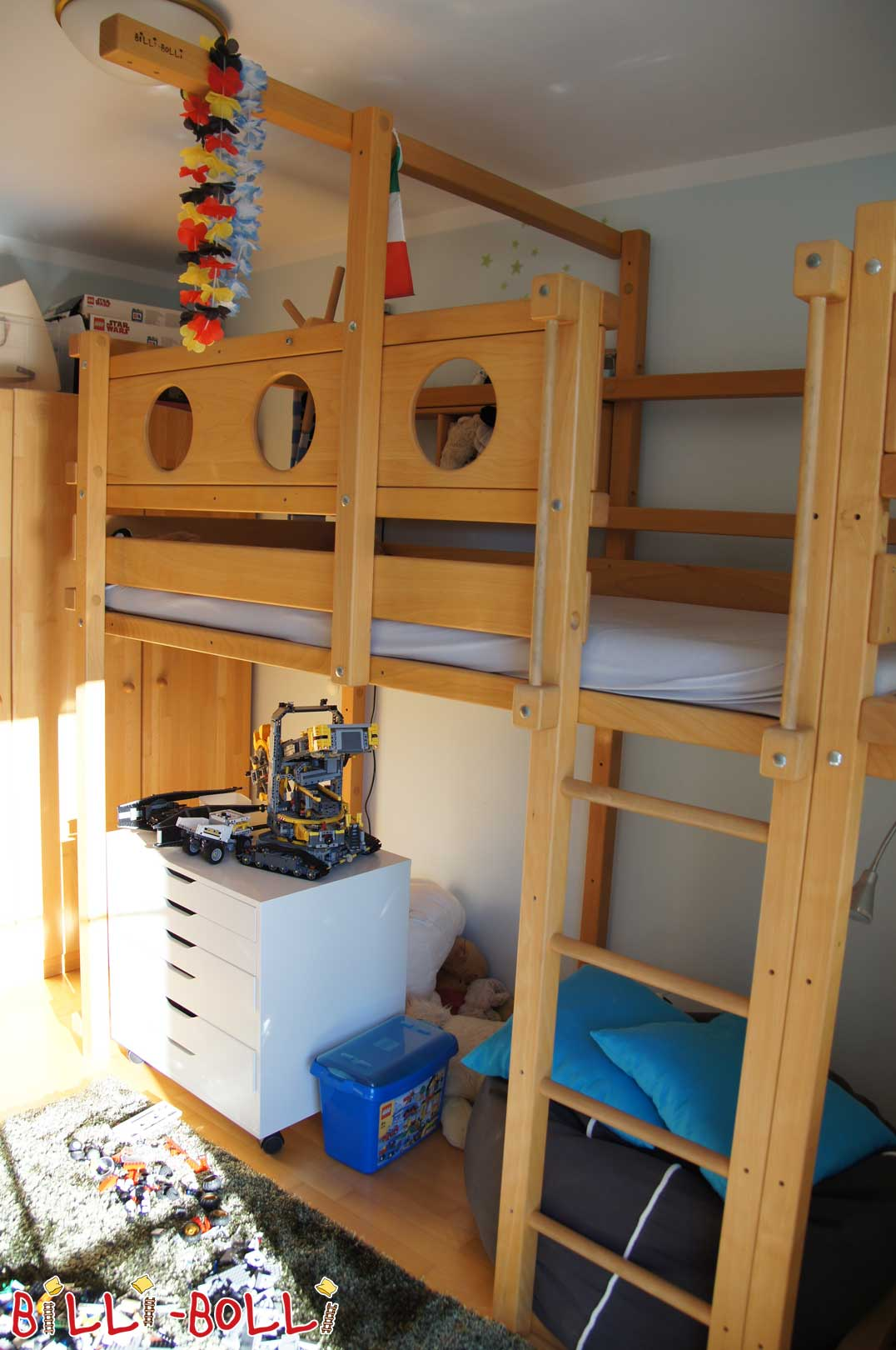 Co-growing Adventure Bed (second hand loft bed)