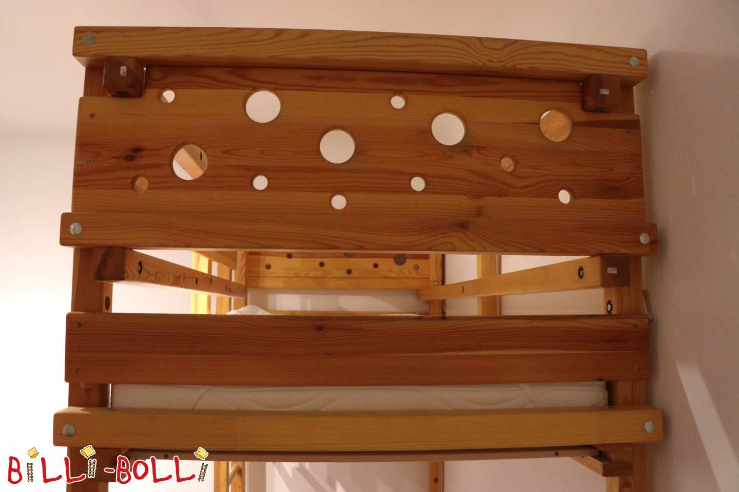 Growing bunk bed 90 x 200 cm with extra-high feet (Berlin) (second hand loft bed)