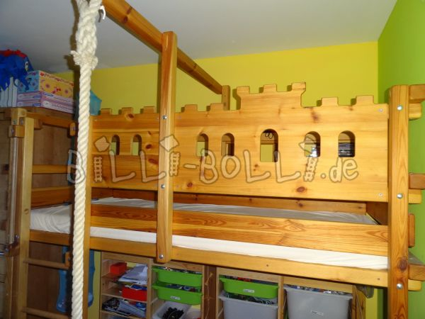 Growing bunk bed made of pine (second hand loft bed)