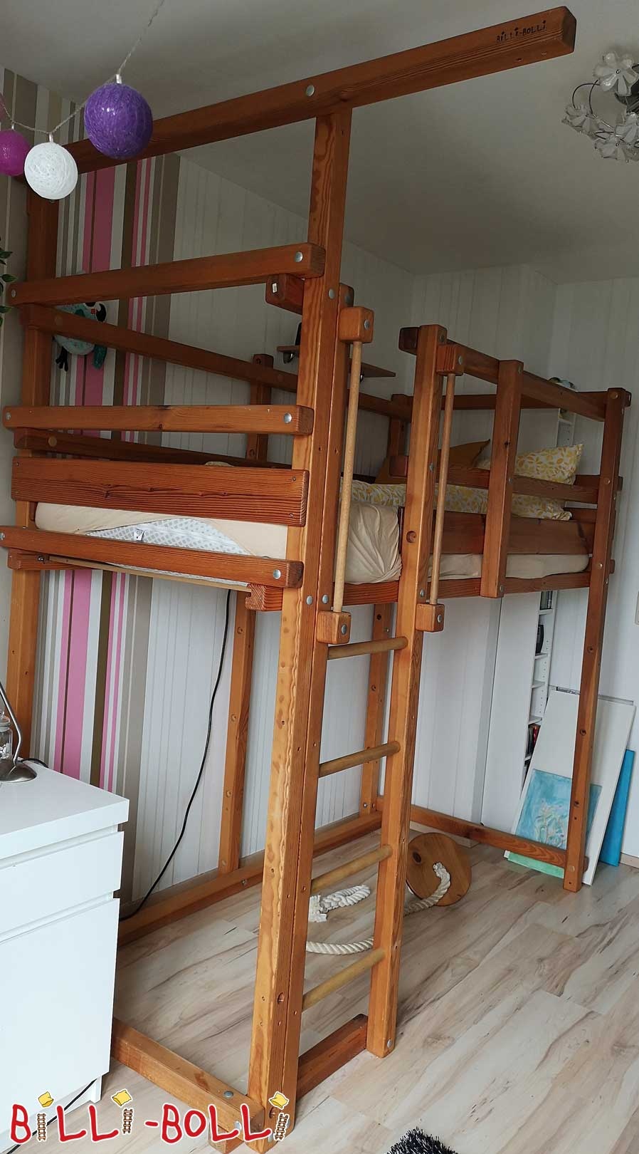 Growing up bed near Darmstadt (second hand loft bed)