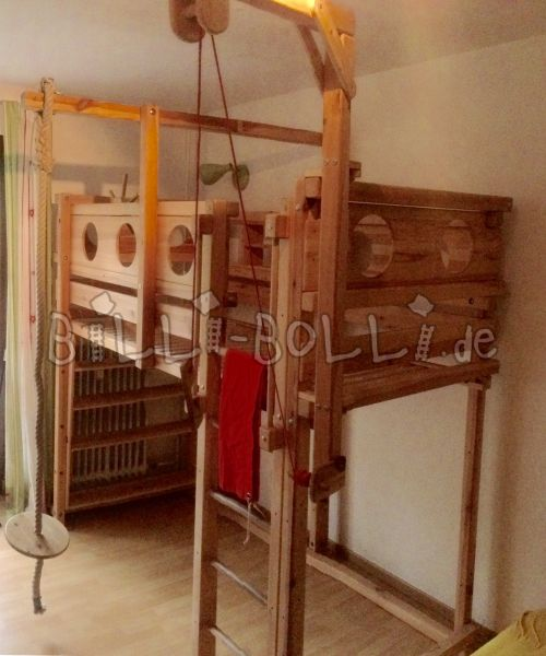 Growing bunk bed, jaw untreated (second hand loft bed)