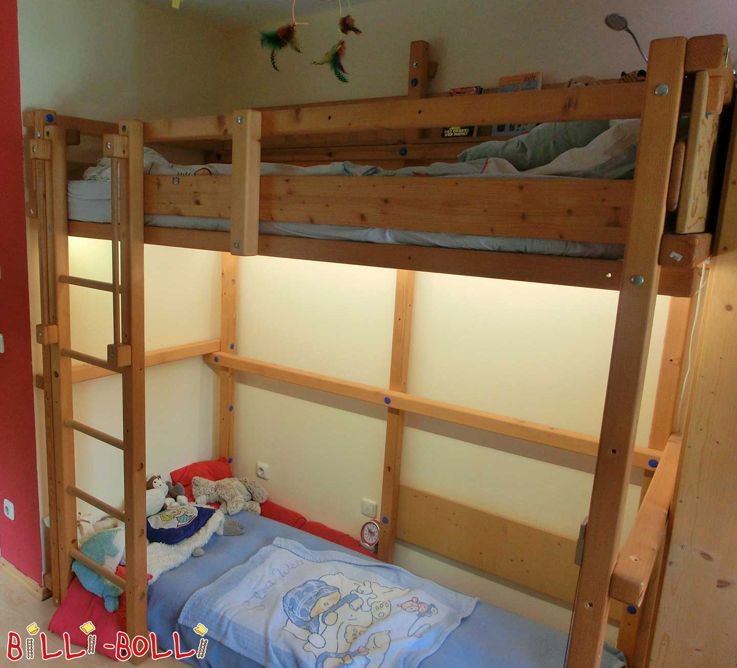 "Collacing high bed ""pirate"" (second hand loft bed)"
