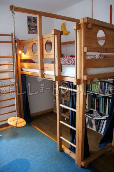 Growing bunk bed 100 x 200 (second hand loft bed)