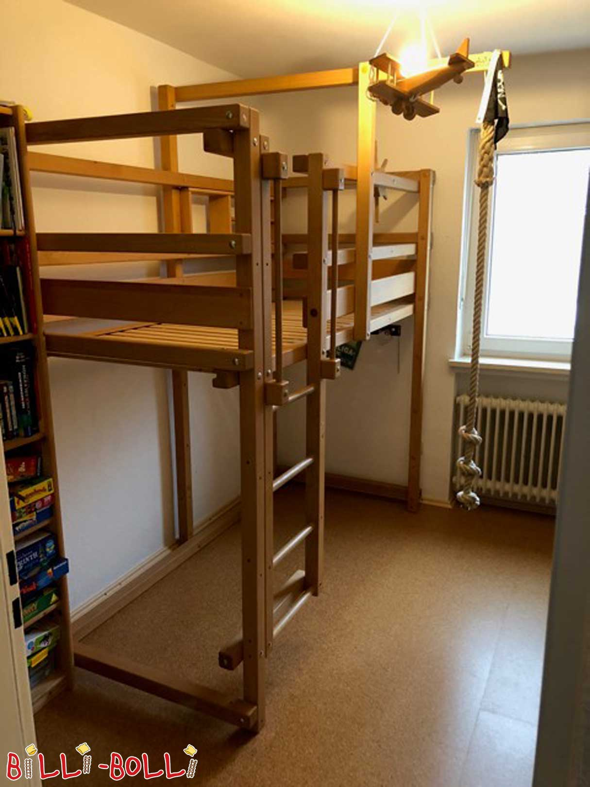 Growing bunk bed (second hand loft bed)