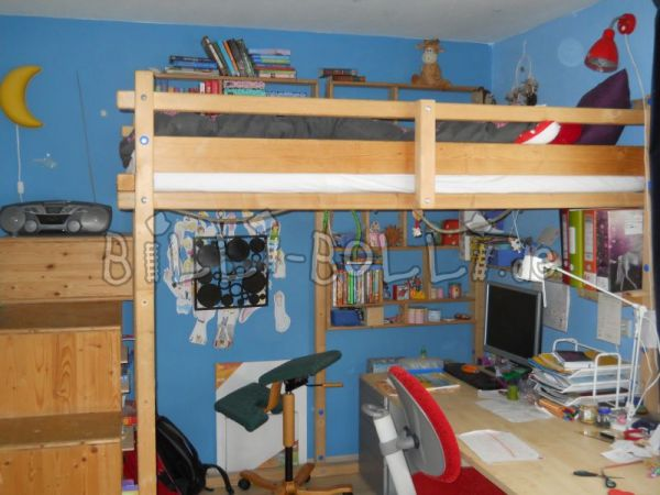 Growing youth high bed (second hand loft bed)