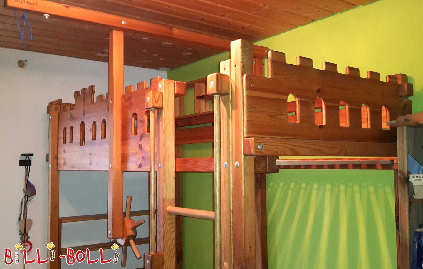 Ritterburg-Billi-Bolli-Hochbett (second hand loft bed)