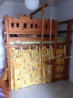 Ritterburg-Hochbett (second hand loft bed)