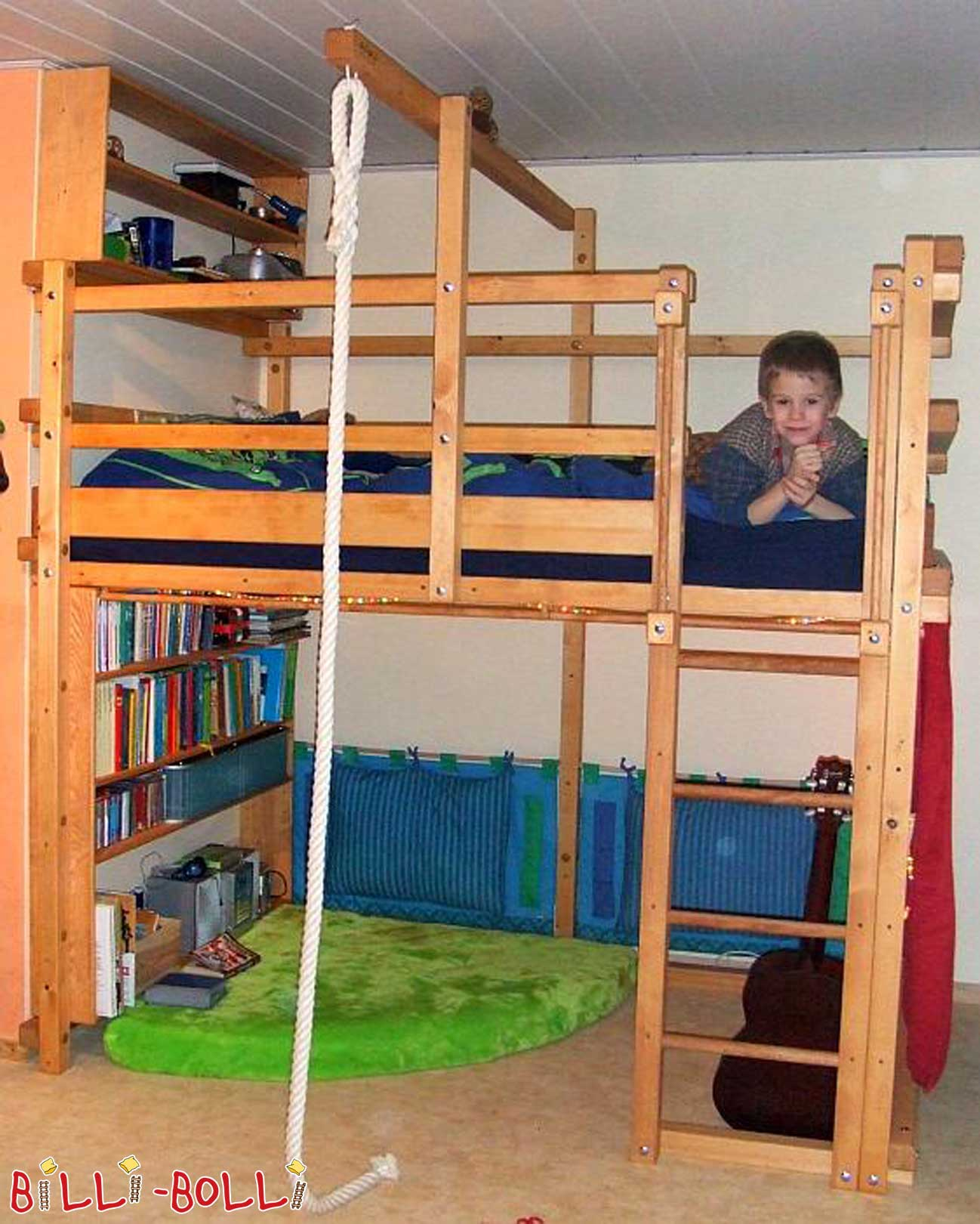 Billi-Bolli with growing bunk bed (second hand loft bed)