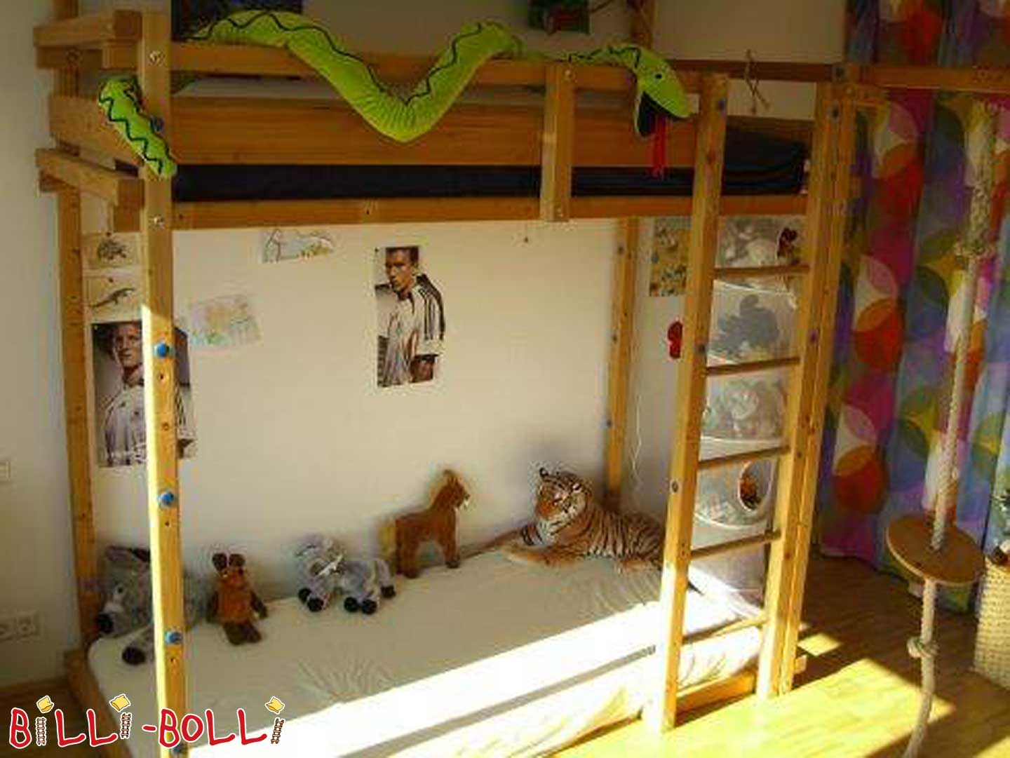 2 Billi Bolli youth high beds type. No. 220 (second hand loft bed)