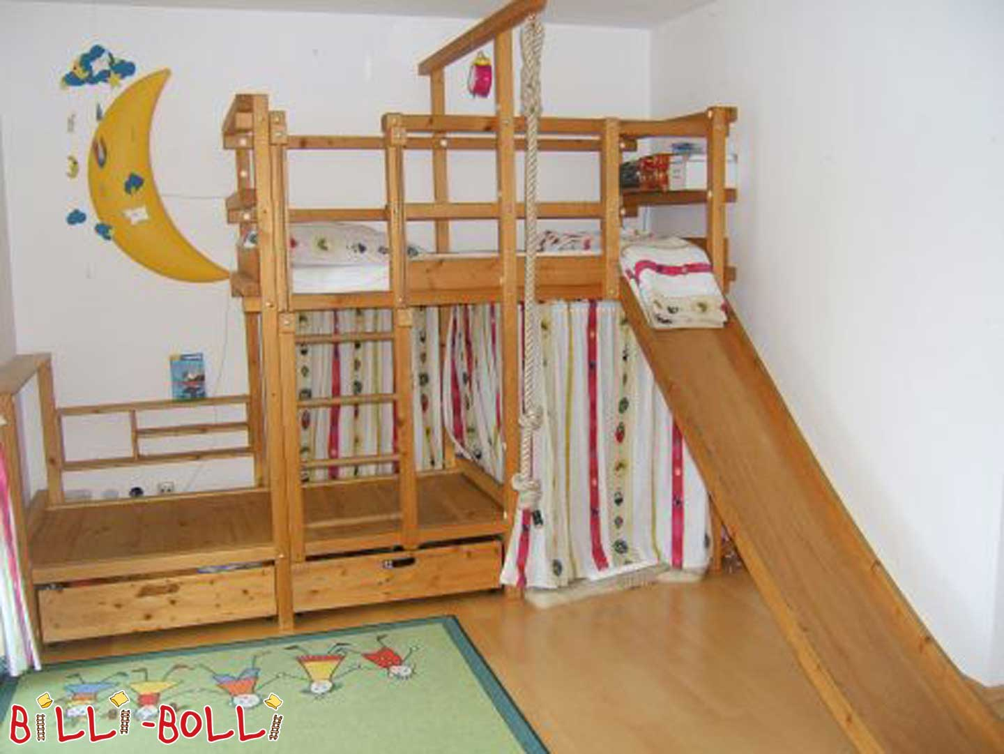 "Billi-Bolli bed ""offset"" (slide for loft bed)"
