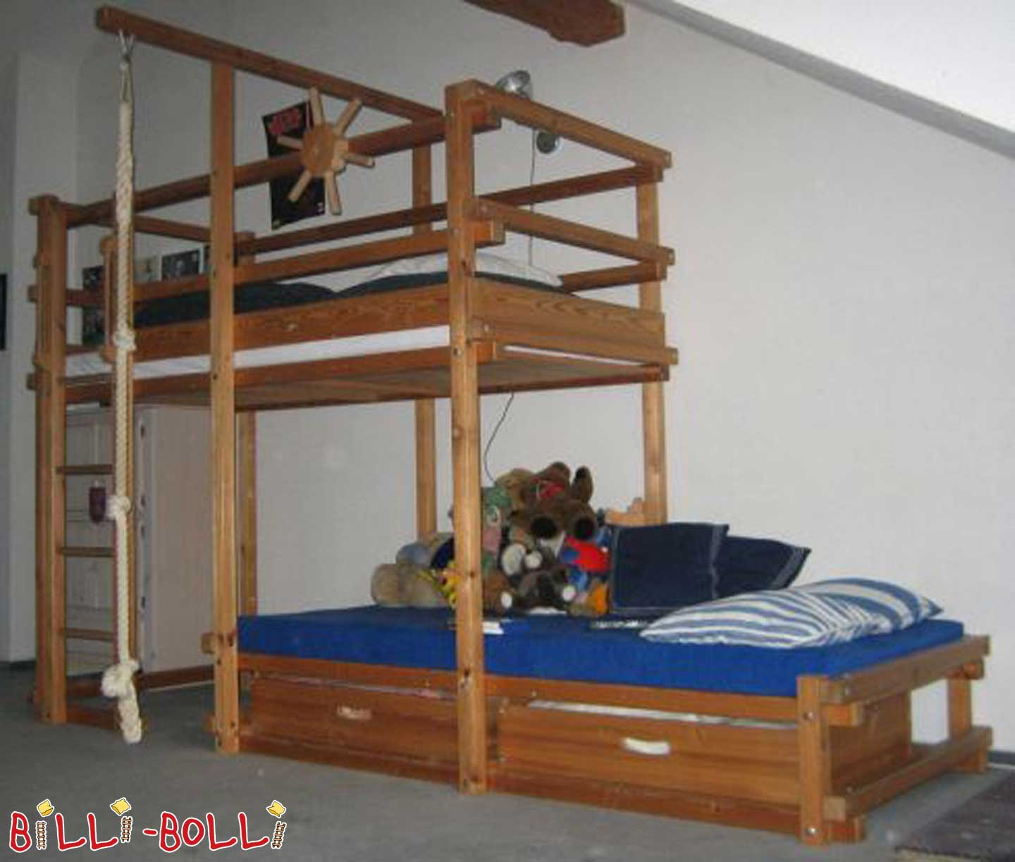 Gullibo, side offset bed (second hand kids' furniture)
