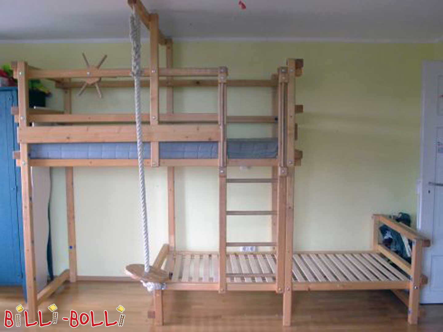 Bunk bed-side-shifted (second hand bunk bed)
