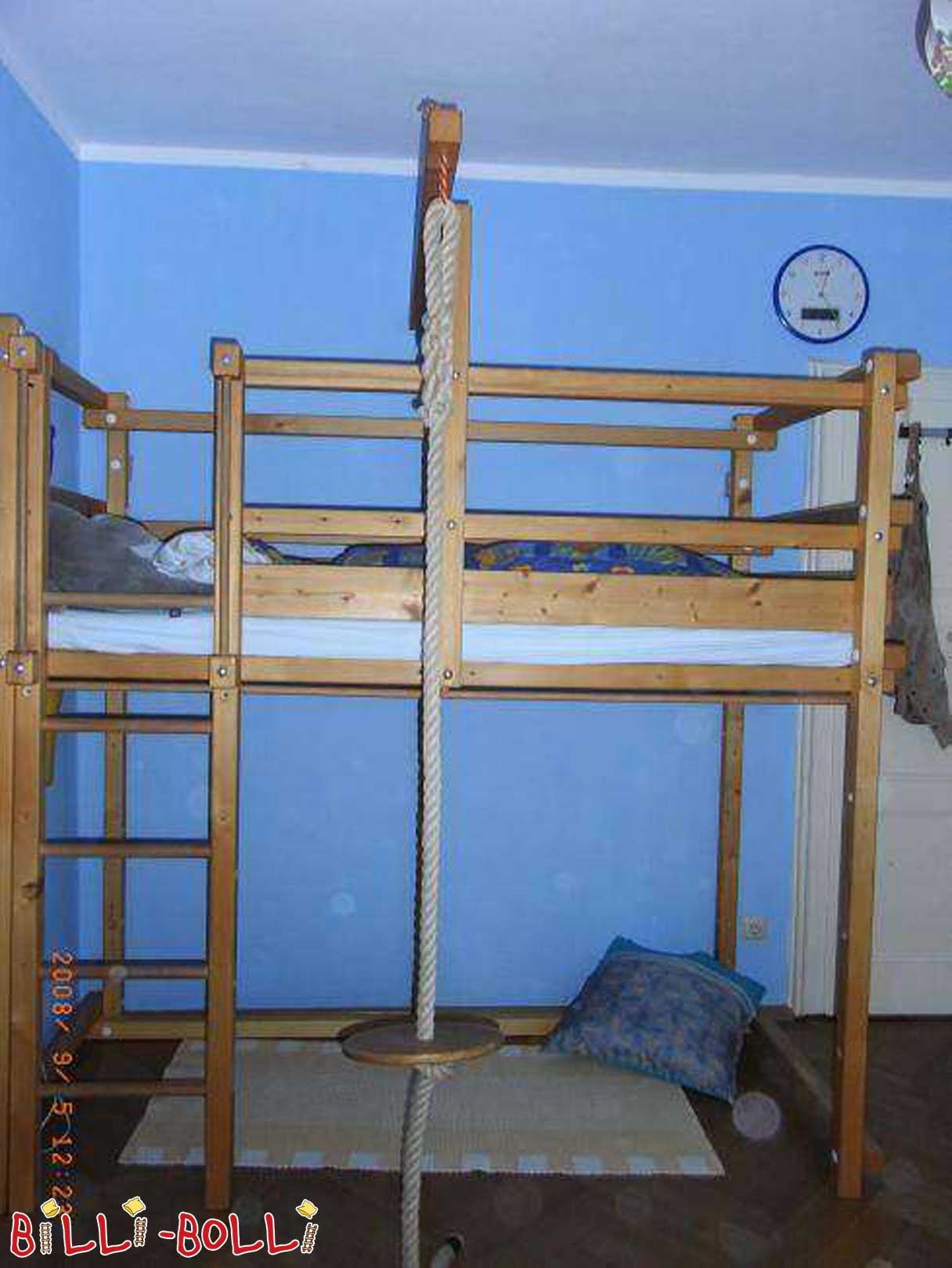 Growing Billi-Bolli bunk bed (second hand loft bed)