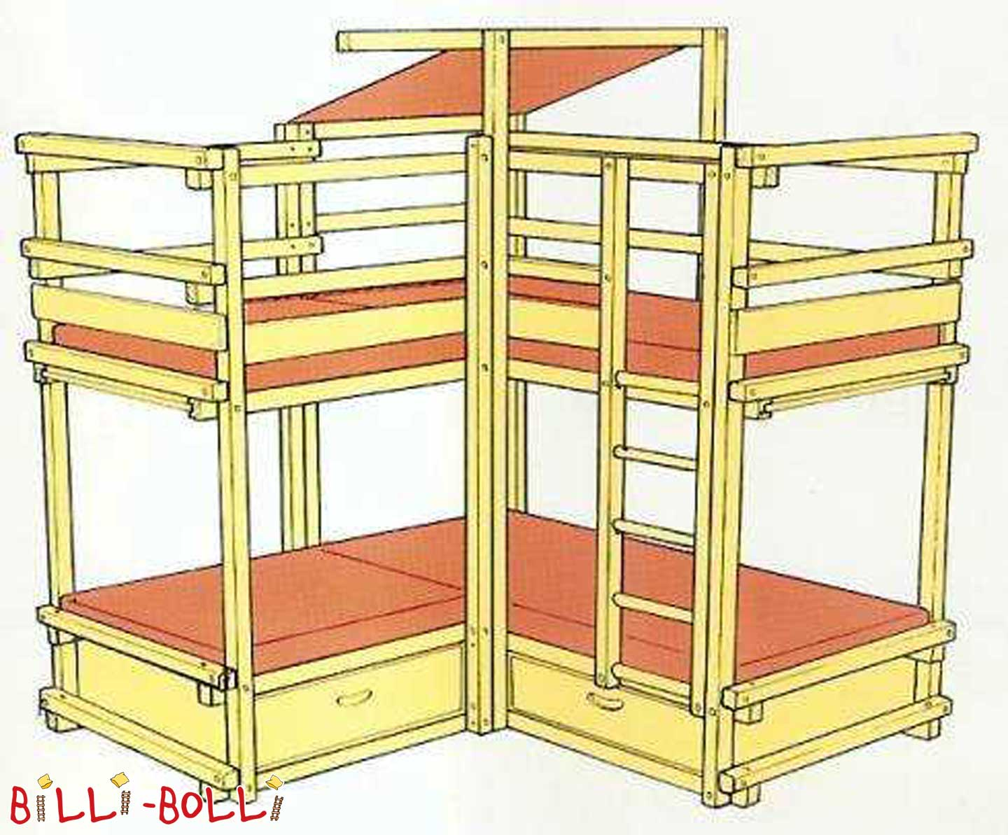 Gullibo Activity Center (second hand kids' bed)