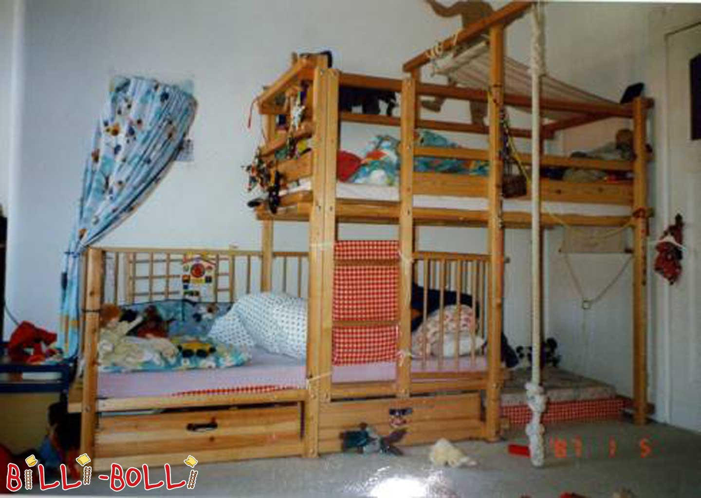 Gullibo bunk bed sit-offset (second hand bunk bed)