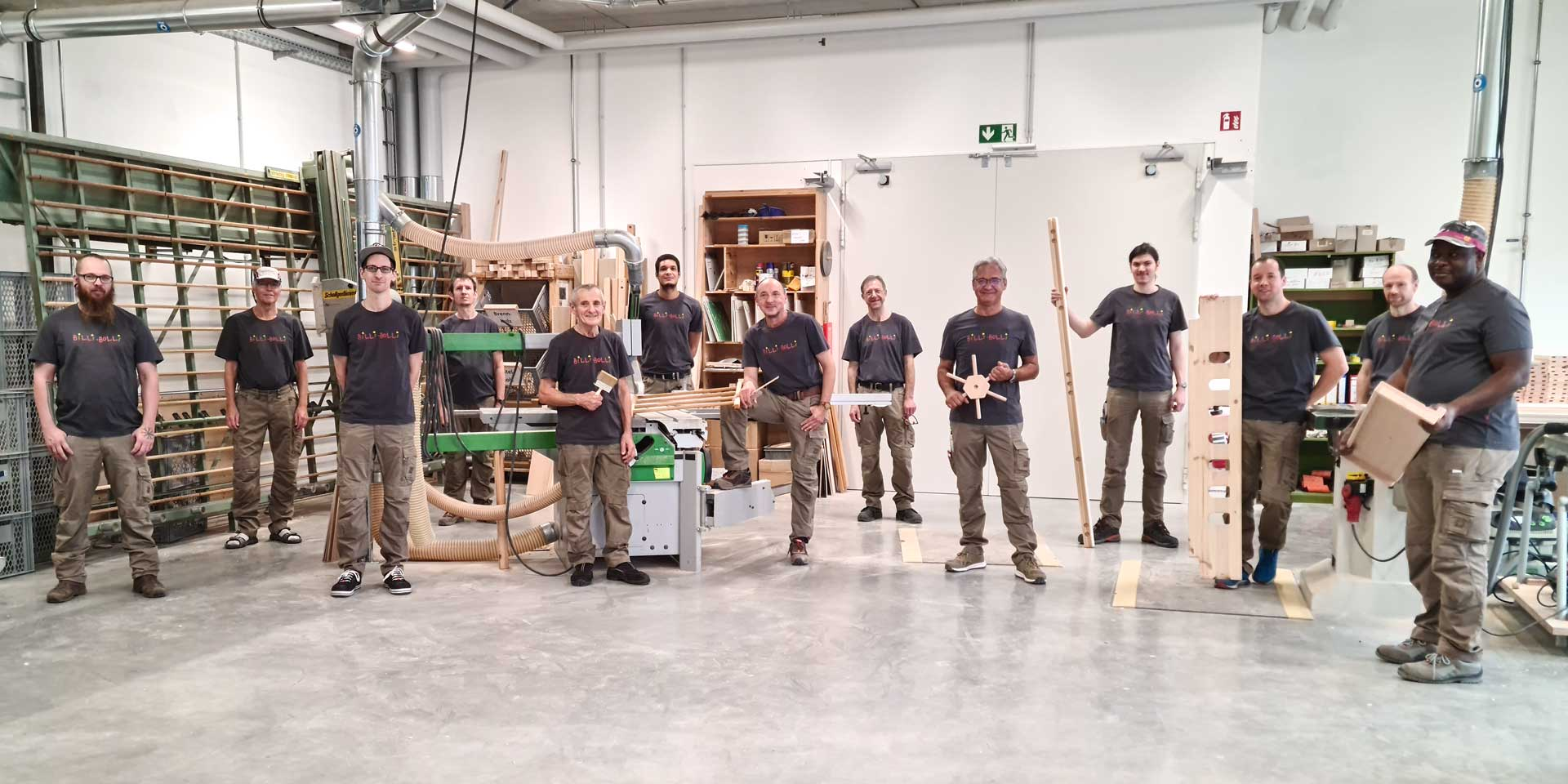 The workshop team